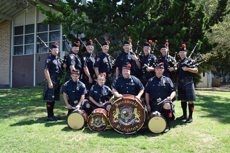 Sacramento Firefighters Pipes and Drums