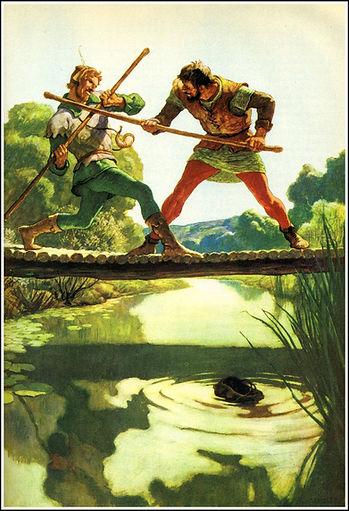 Robin Hood's Quarterstaff