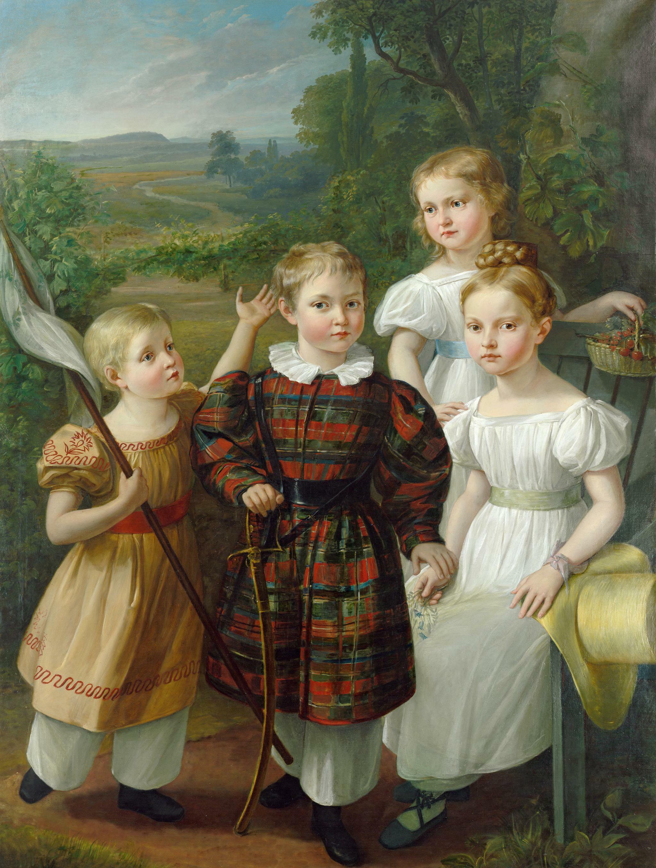 Die Kinder von Eduard von Nostiz und Jänckendorf