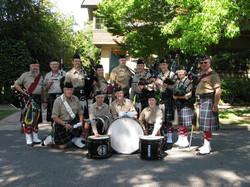 Piedmont Highlanders Drums & Pipes