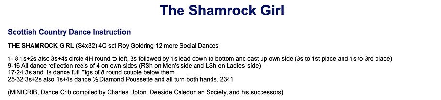 The Shamrock Girl