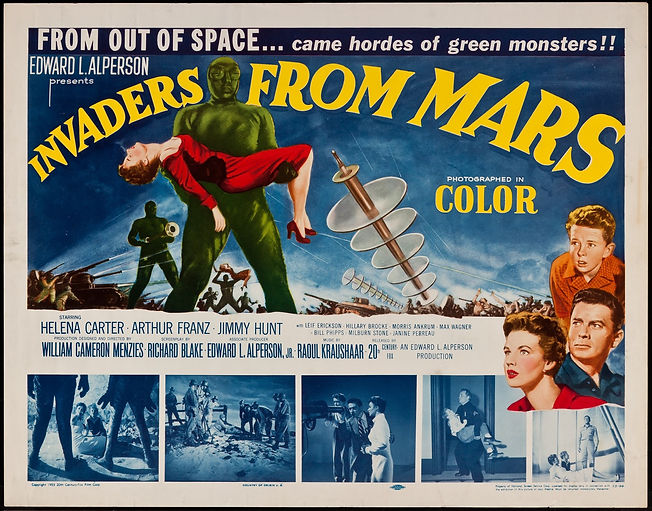 The Planet Mars (War of the Worlds)