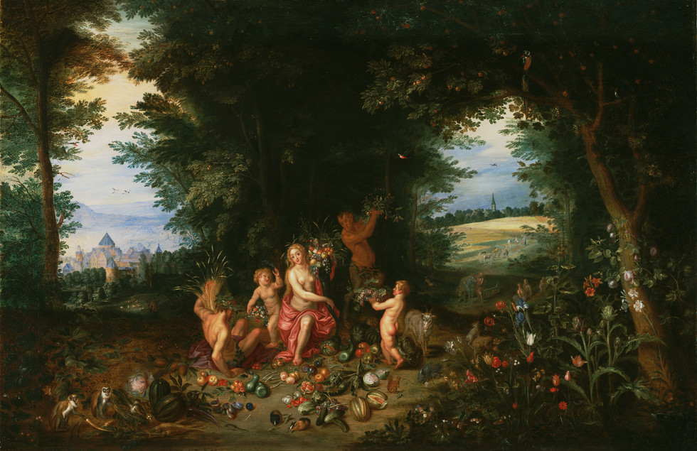Allegory of Abundance: Landscape with Ceres
