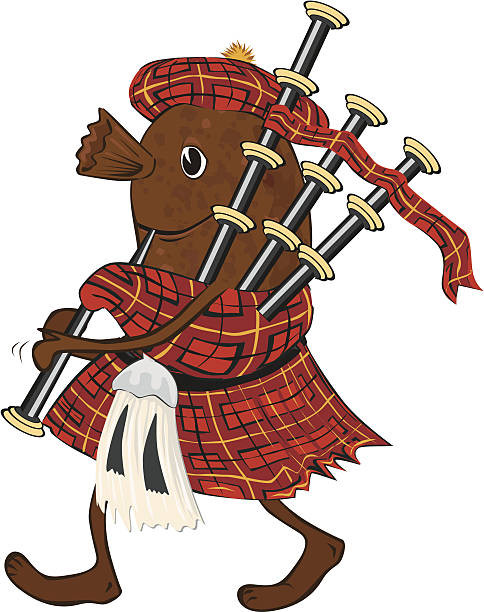 Bonnie Scotland Cartoon