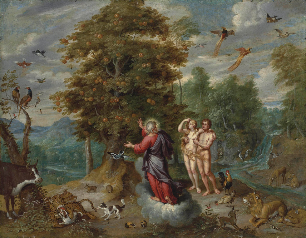 God Showing Adam the Tree of Knowledge