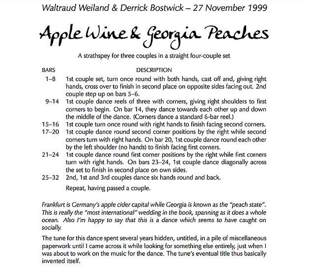 Apple Wine and Georgia Peaches