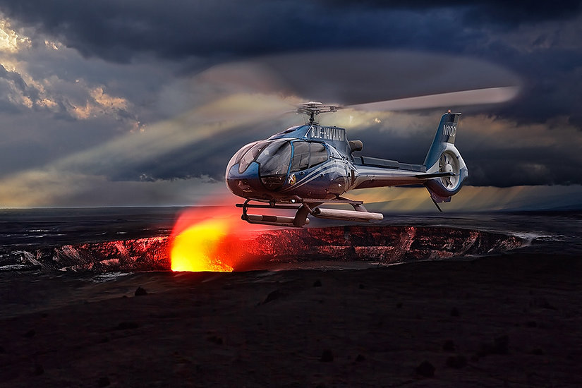 Over The Volcano