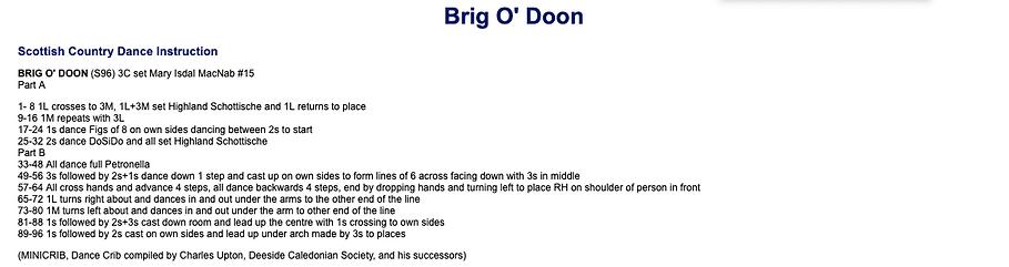 Brig O' Doon