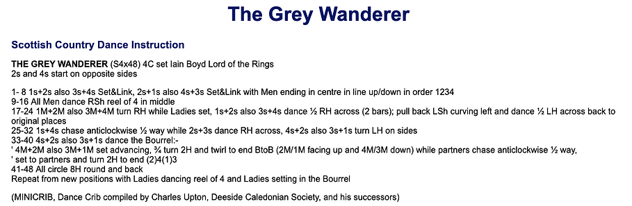 The Grey Wanderer