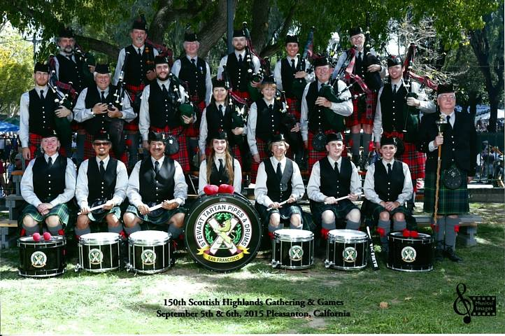 Silicon Valley Pipe Band