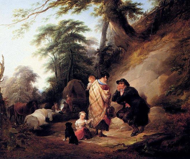The Gypsy Shawl