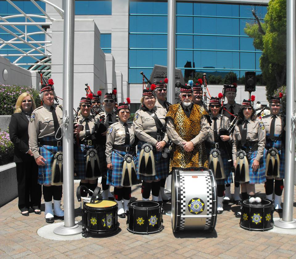 Santa Clara County Sheriff's Office Pipe Band