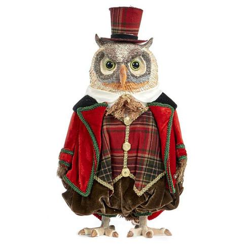 The Tartan Gentleman Owl