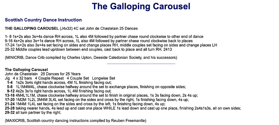 The Galloping Carousel