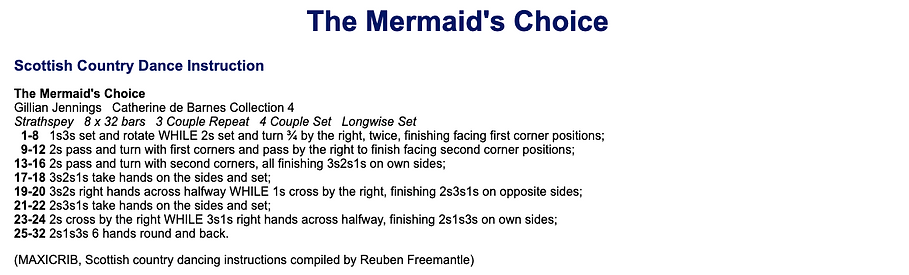 The Mermaid's Choice