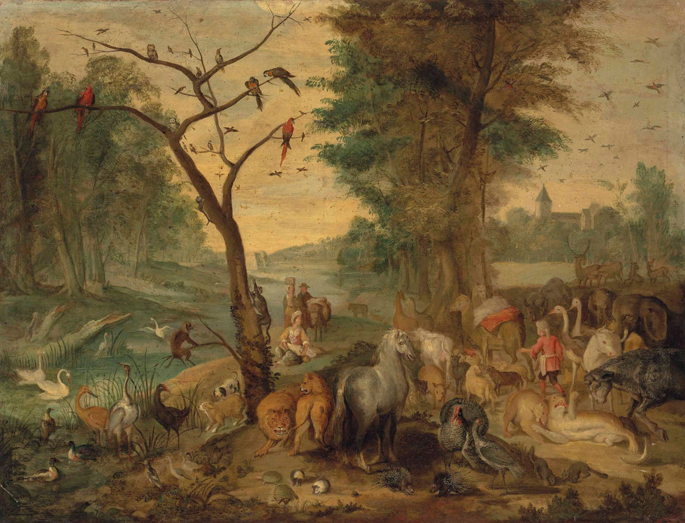 Entry of Animals Into Noah's Ark