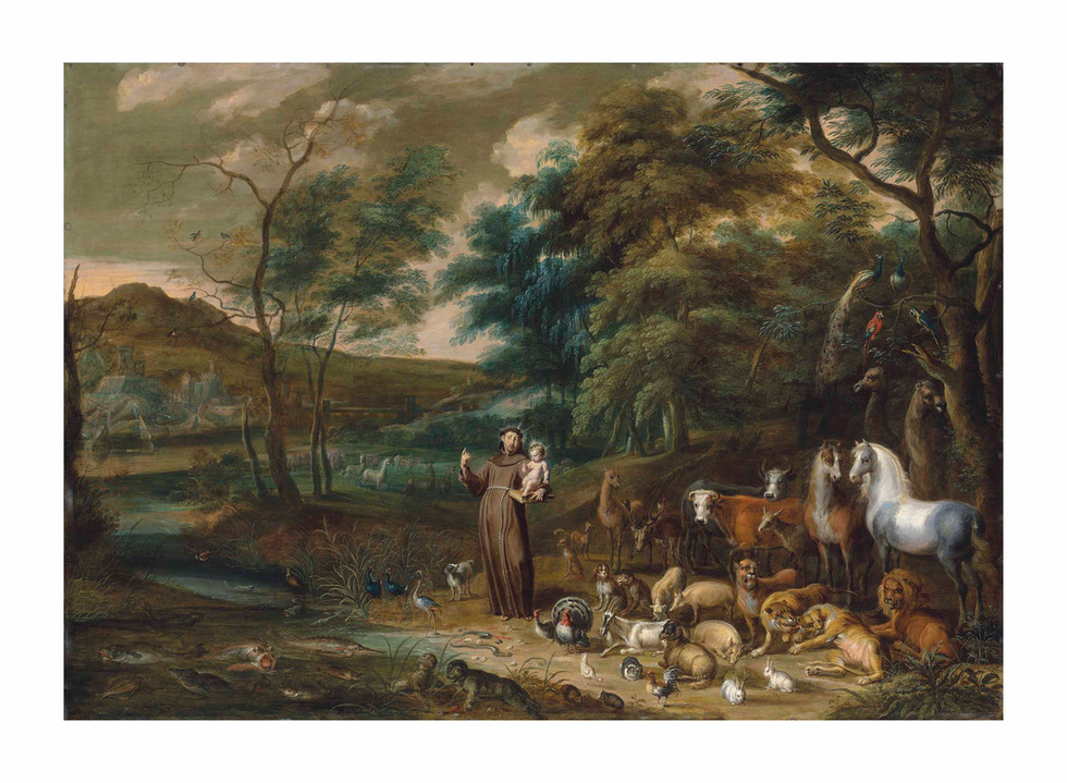 St Francis and the Animals