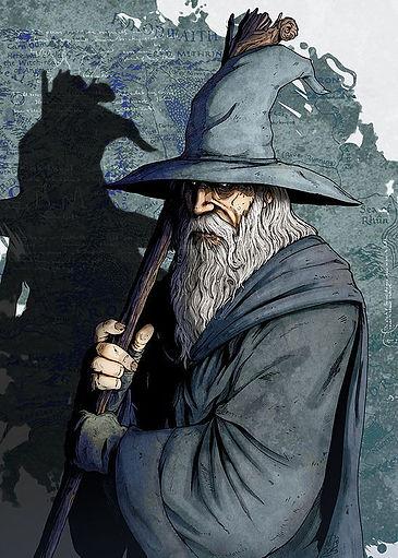 The Grey Wanderer
