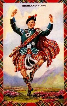 highlandflingpostcard