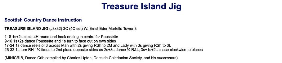 Treasure Island Jig