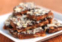 Chopped Nuts & Chocolate Swirls