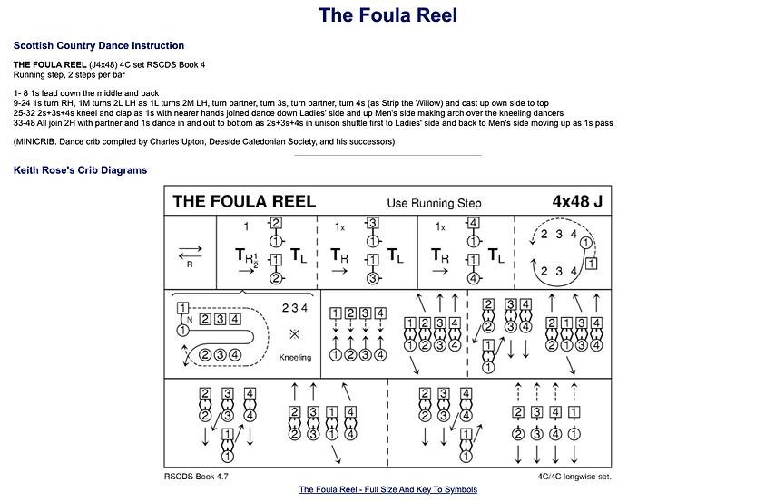 The Foula Reel