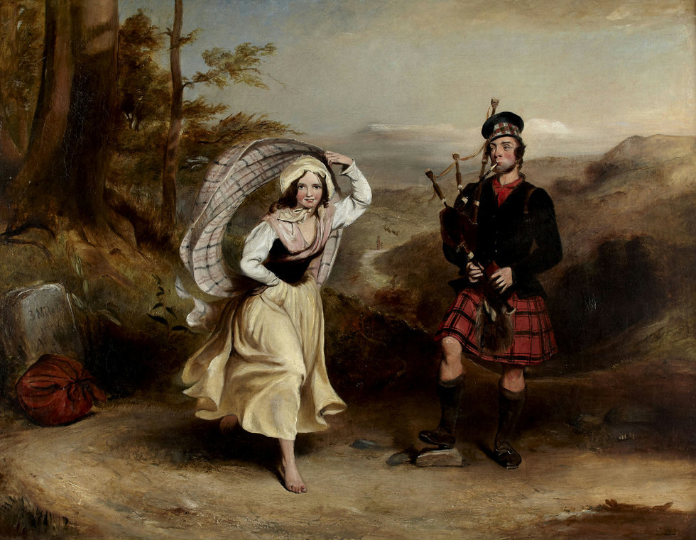 """A Piper and His Lassie"""