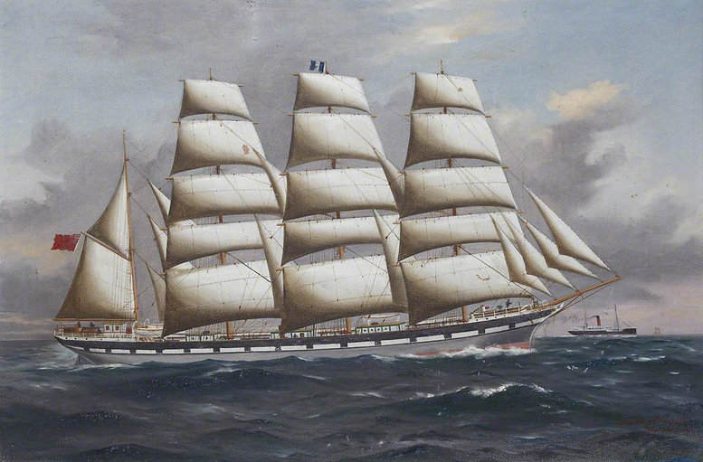 Ship in Full Sail