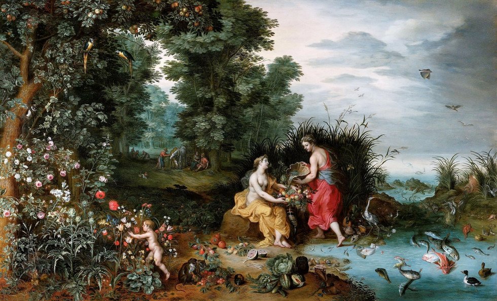 Allegory of Earth and Water