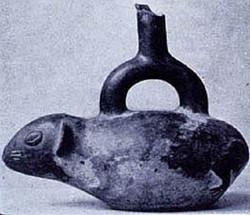 Inca Cuy Vessel