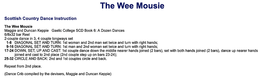 Wee Mousie