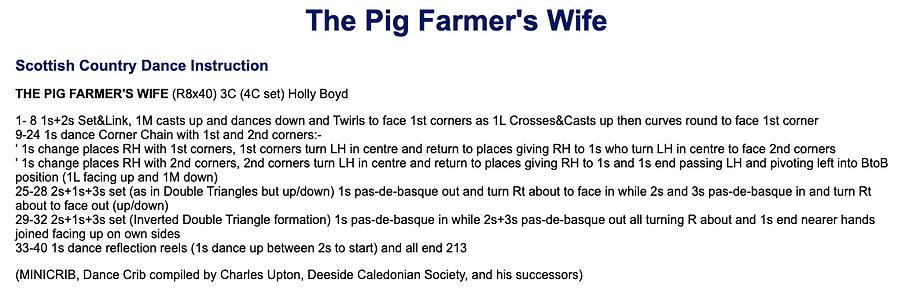 The Pig Farmer's Wife
