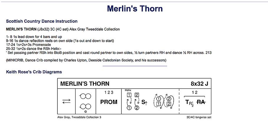 Merlin's Thorn