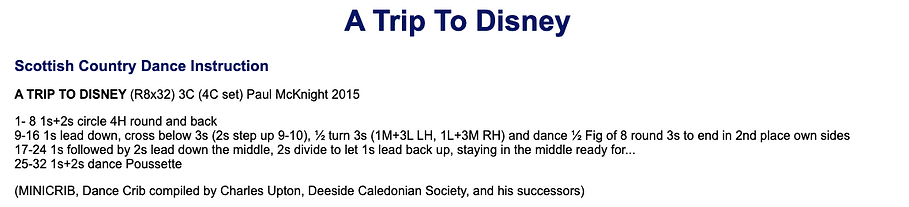 A Trip to Disney