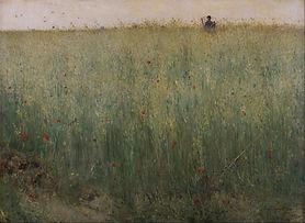 Field of Oats at Grez, Karl Nordström, 1885