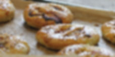 Golden Eccles Cakes