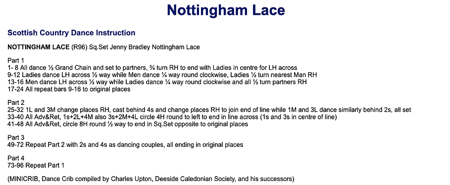 Nottingham Lace