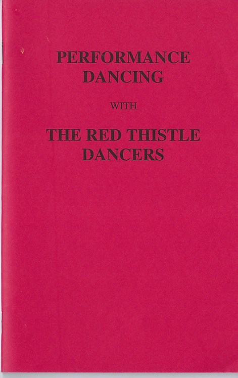 "BOOKLET - ""Performance Dancing"" Companion Booklet"""