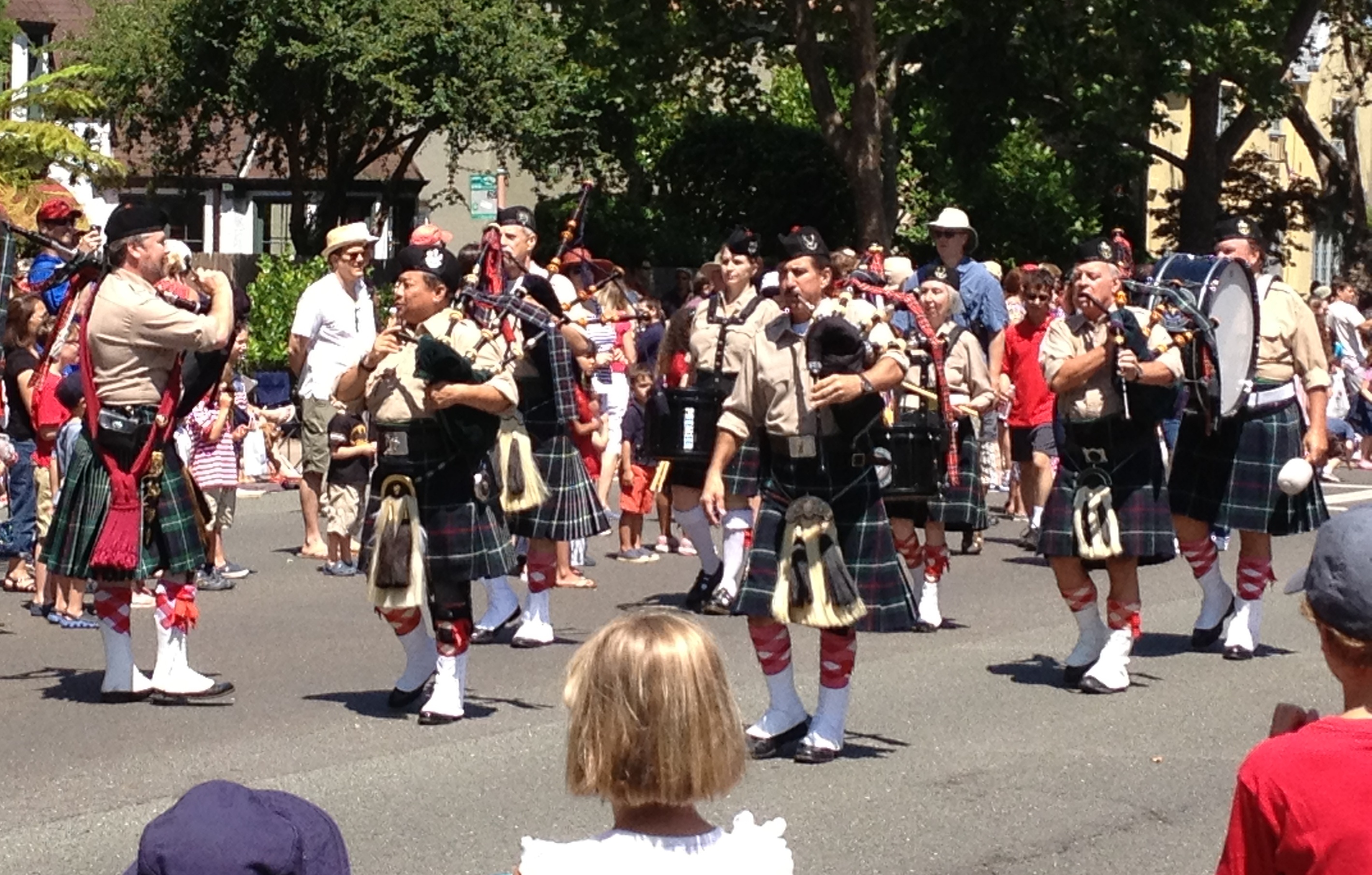 Piedmont Highlanders Drums & Pipes