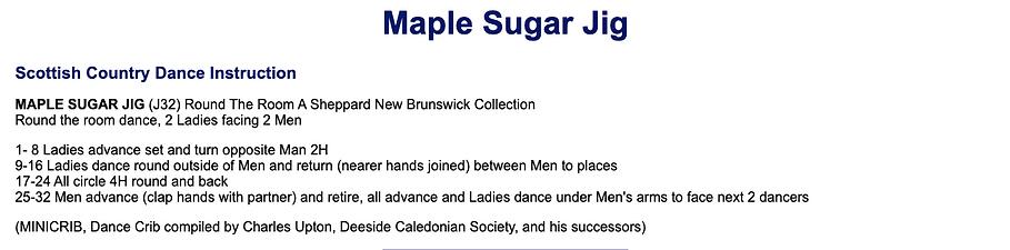 Maple Sugar Jig