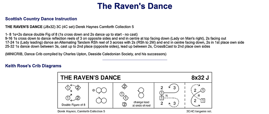 The Raven's Dance