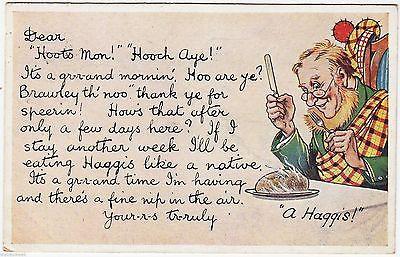 Vintage postcard, 1935