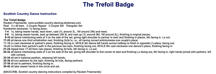 The Trefoil Badge