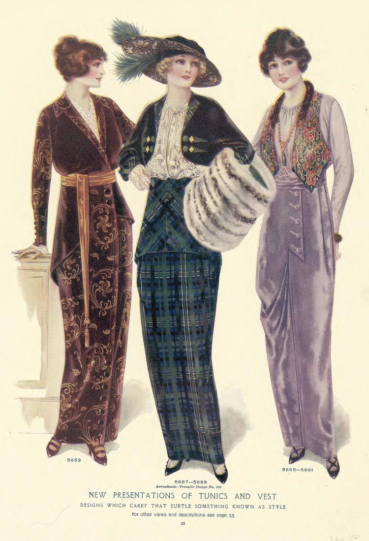 1914 Fashion