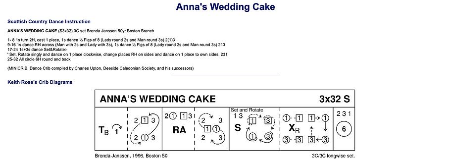 Anna's Wedding Cake