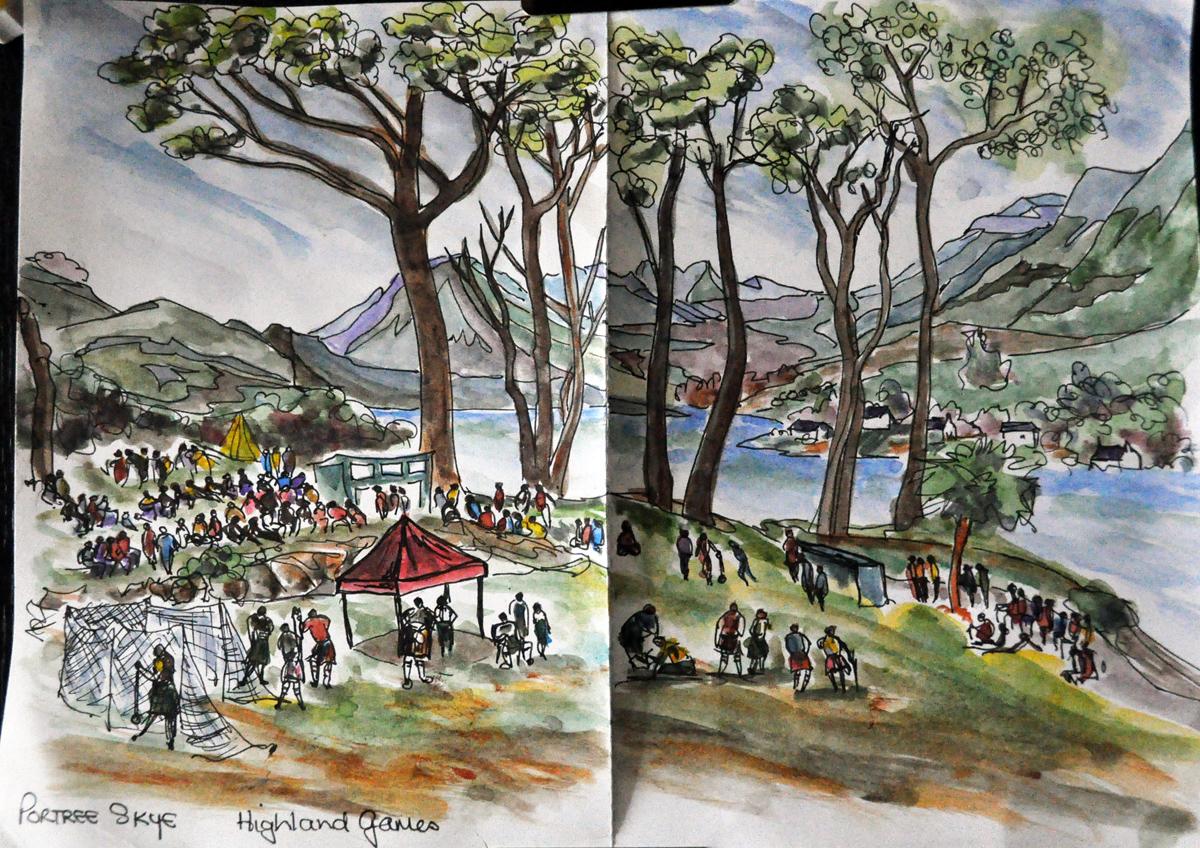 Highland Games, Portree on Skye