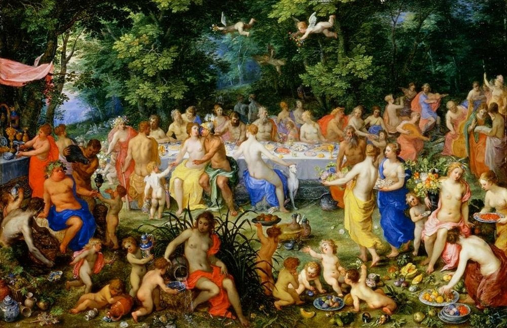 Feast of the Gods (The Marriage of Peleus and Thetis)