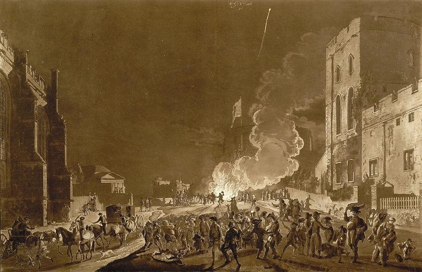 Bonfire at Parliament