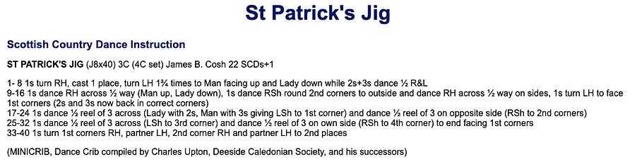 St Patrick's Day Jig