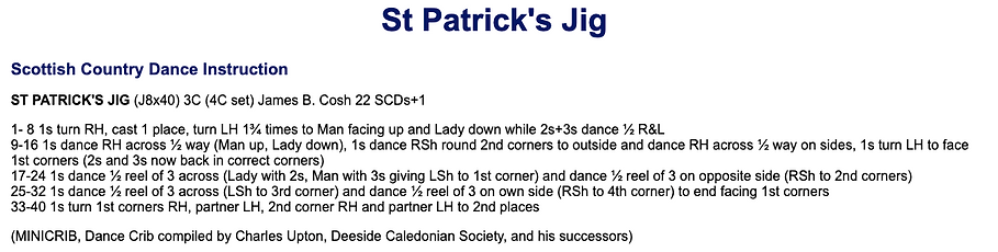 St Patrick's Day Jig